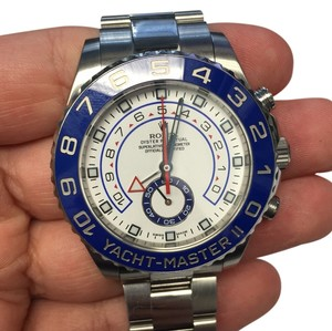 Rolex YACHT-MASTER II STEEL WITH BLUE BEZEL