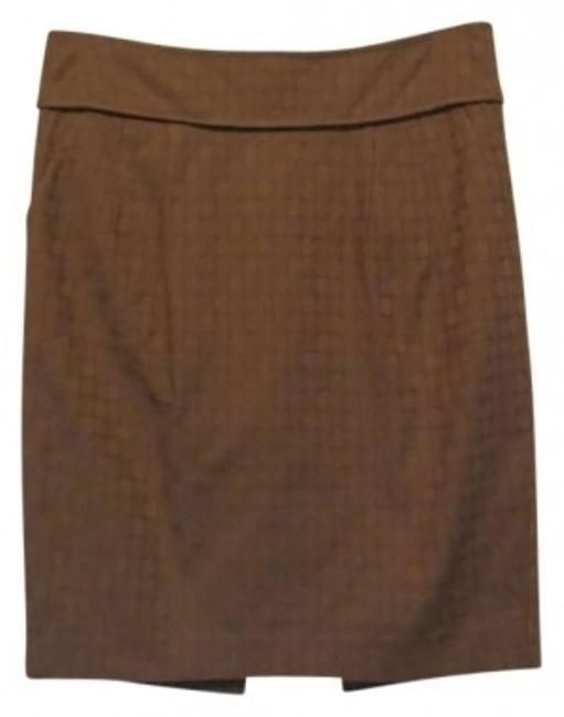 Club Monaco Mini Skirt Tan