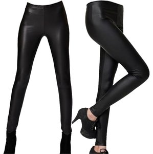 Other Stretch Pants Faux Black Leggings
