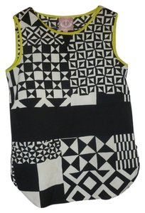 Romeo & Juliet Couture Top Black/White/Neon