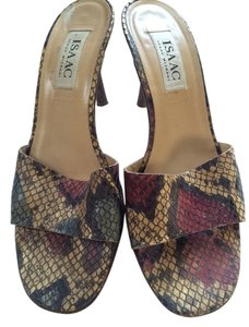Isaac Mizrahi By Slides Multi-Color Mules