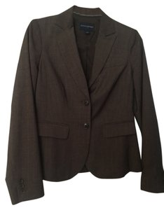 Banana Republic Jacket Brown and light blue pinstripe Blazer