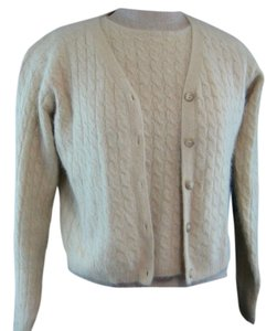 Ellen Tracy Angora Cardigan Sweater