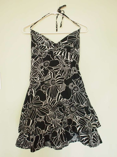 United Colors of Benetton short dress Black and White on Tradesy