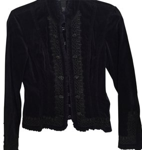 INC International Concepts Midnight blue and black Blazer