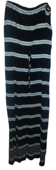 Item - Black and White Long Casual Maxi Dress Size 16 (XL, Plus 0x)