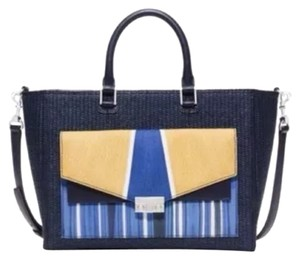 Tory Burch Straw Tote Shoulder Bag