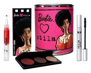 Stila Barbie Loves STILA COSMETICS 1980 Foxy Doll Face Eye Lip Set Limited Edition