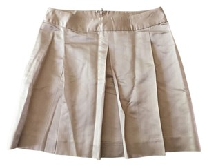 Tracy Reese Mini Skirt Beige