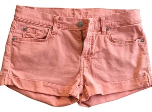 7 For All Mankind Cuffed Shorts Brick