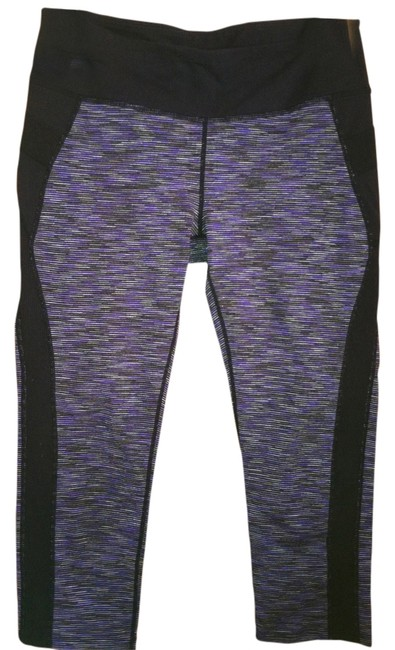 Item - Black/Purple Activewear Bottoms Size 8 (M, 29, 30)