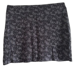 Banana Republic Mini Skirt Grey/Blue and Black