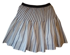 Anthropologie Full Floreat Striped Skirt