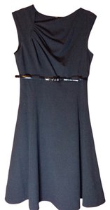 Calvin Klein A-line Empire Waist Sleeveless Classic Formal Dress