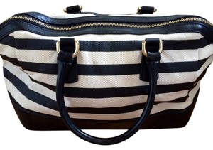 Furla Satchel in black and white