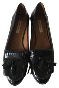 Zara Loafers Blogger Trend Leather Flats