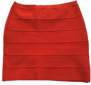 BB Dakota Mini Skirt Red