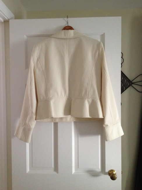 Donna Rae Off White Jacket
