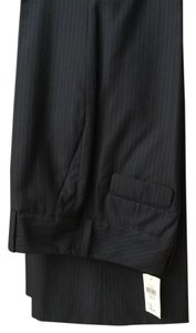 Banana Republic Trouser Pants Black with gray strips