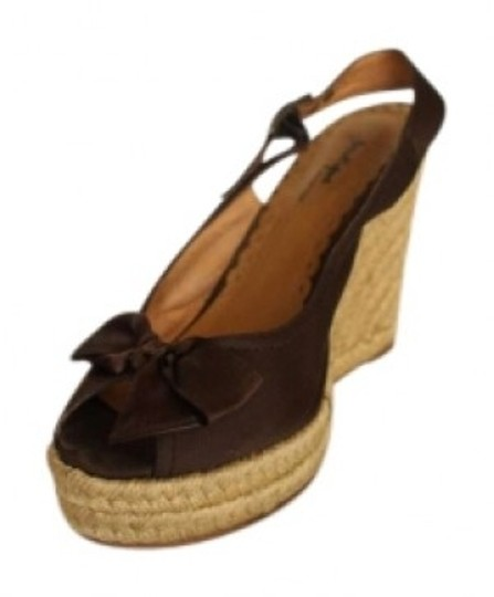 Preload https://img-static.tradesy.com/item/131009/nordstrom-brown-sling-back-wedges-size-us-75-0-0-540-540.jpg