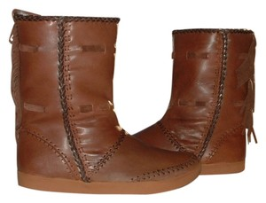 House of Harlow 1960 Native American Fringe Brown Boots