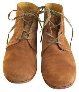 Esquivel Low-rise Flats Handmade Tan Suede Boots