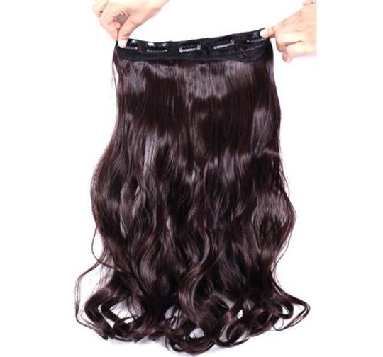 Dark Brown Bogo Free Full Head Clip In Extensions Free Shipping Hair Accessory