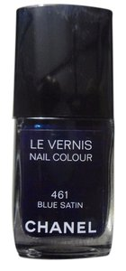 Chanel Limited Edition Chanel Beaute Nail Polish Blue Sation 461 80% Full- Hard to Find!