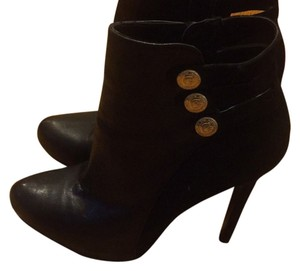 Guess Black with Suede Boots