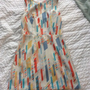 A|X Armani Exchange short dress Multi on Tradesy