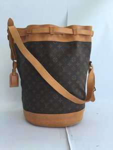 Louis Vuitton Drawstring Bucket Noe Randonnee Rare Shoulder Bag