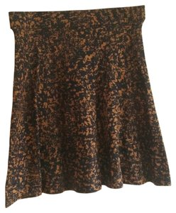 Alfani Luxe Layers Skirt black and brown