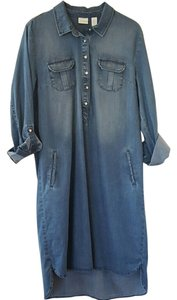 Denim Maxi Dress by Chico's