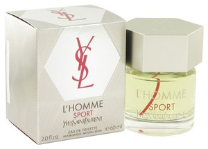 Saint Laurent L'HOMME SPORT by YVES SAINT LAURENT ~ Men's Eau de Toilette Spray 2 oz