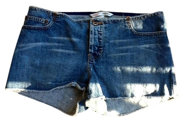 Abercrombie & Fitch Jeans Cut Off & Shorts Blue
