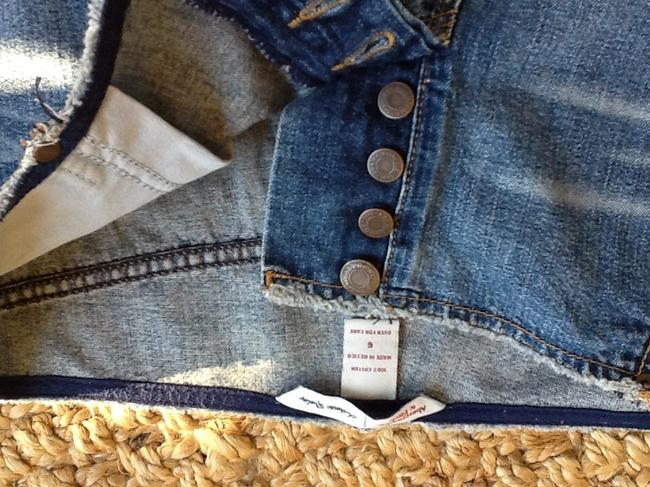 Abercrombie & Fitch Jeans Cut Off Shorts Blue