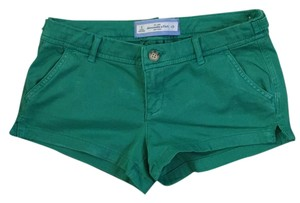 Abercrombie & Fitch Mini/Short Shorts green