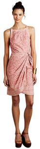 Anthropologie short dress Pink and White on Tradesy