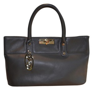 Onna Ehrlich Leather Never Used Tote in Grey