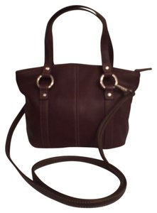 Fossil Mini Cross Body Satchel in Brown