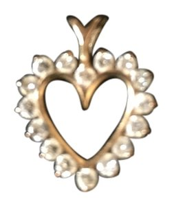 Mitchum Jewelers 14K Gold Diamond Heart Pendant