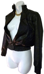 Zara Faux Xs Motorcycle Leather Jacket
