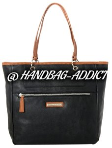 Nine West Satchel in Brown / Black