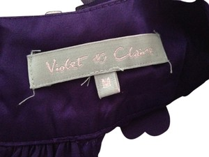 Violet & Claire Top Deep Purple