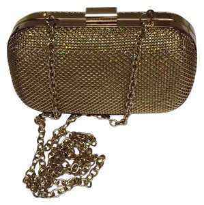 Expressions NYC Caged Metal Fabric Clutch 7