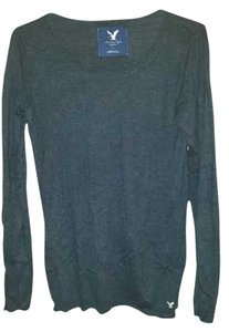 American Eagle Outfitters Reversed Seams Top Grey