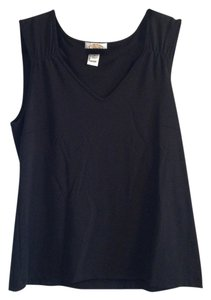 Talbots Top Black Wool