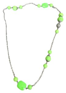 Xhilaration Plastic Cocktail Long Necklaces - Blue and Green (set of 3)