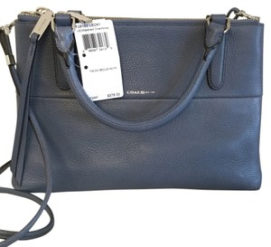 Chambray pebbled leather Coach bag NWT Cross Body Bag