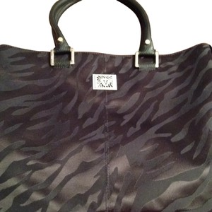 Anne Klein Tote in Black Zebra